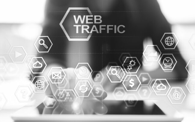 Web Metrics Benchmarking to Drive Web Traffic